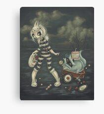 The Cat Burglar Canvas Print