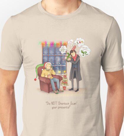 Sherlock's Santa Scan T-Shirt