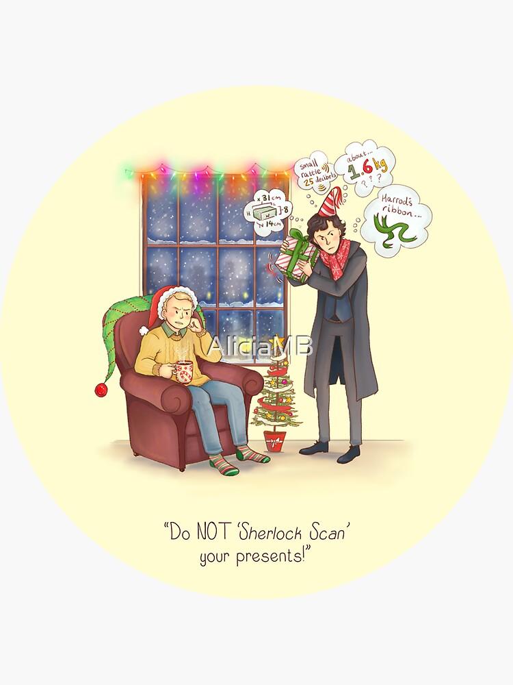 Sherlock's Santa Scan by AliciaMB
