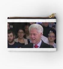 Bill Clinton high as a kite Studio Pouch