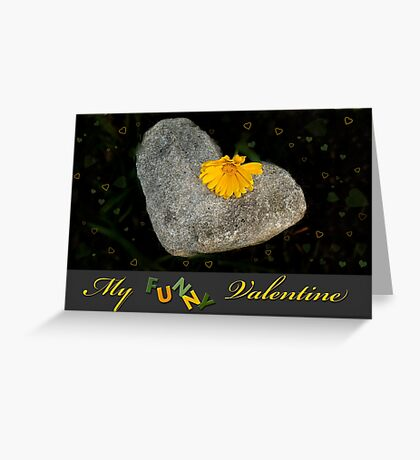 My Funny Valentine Greeting Card