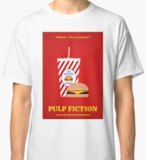Pulp Fiction film poster Classic T-Shirt