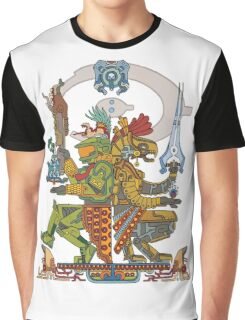 "Halo Inspired Maya design ""Gods Among""  Graphic T-Shirt"