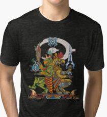 "Halo Inspired Maya design ""Gods Among""  Tri-blend T-Shirt"