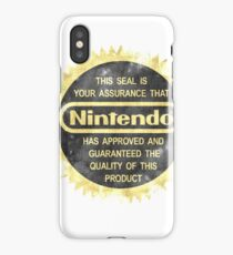 Nintendo Seal of Quality iPhone Case/Skin