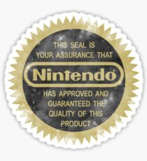 Nintendo Seal of Quality Sticker