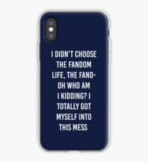 Vinilo o funda para iPhone Fandom Life