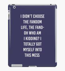 Fandom Life iPad Case/Skin