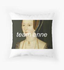 Team Anne Throw Pillow