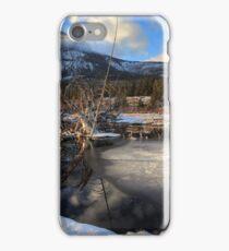 Yamnuska springs iPhone Case/Skin