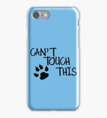 Can't Touch This funny nerd geek geeky iPhone Case/Skin