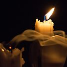 Two Candles by dcarphoto
