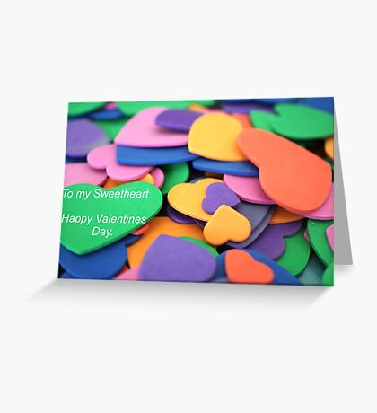 With Love Valentine Greeting Card