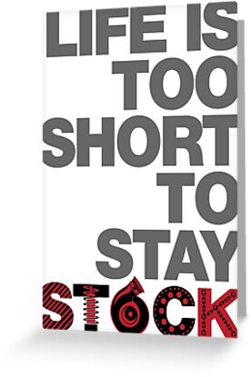 Life Is Too Short To Stay Stock by lolotees