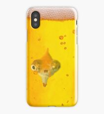 Drunk Fish Beer Fish iPhone Case/Skin