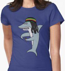 Reggae Shark Womens Fitted T-Shirt