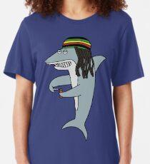 Camiseta ajustada Reggae Shark