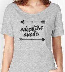 Adventure Awaits (arrows) Women's Relaxed Fit T-Shirt