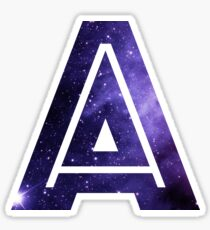abc galaxy stickers redbubble