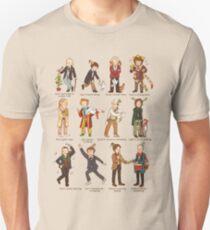 The Twelve Doctors of Christmas Slim Fit T-Shirt