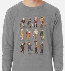 The Twelve Doctors of Christmas Lightweight Sweatshirt