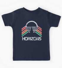 Vintage Horizons Distressed Logo in Vintage Retro Style Kids Clothes