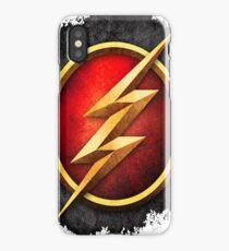 flash thunder iPhone Case/Skin