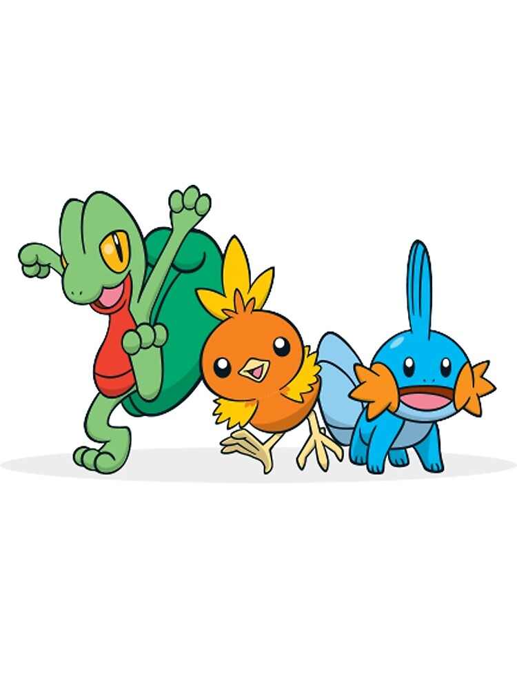 Pokémon Generation 3 Starters by Poke Monsters