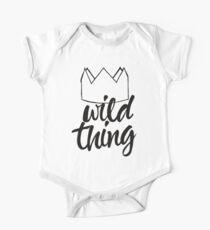 Wild Thing (black & white) Kids Clothes
