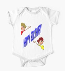 Happy Birthday T-shirt for Boys Kids Clothes
