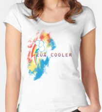 20% cooler Women's Fitted Scoop T-Shirt