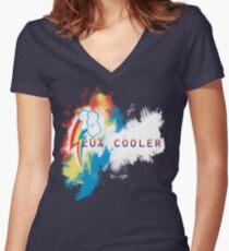 20% cooler Women's Fitted V-Neck T-Shirt