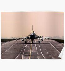Royal Air Force Typhoon Poster