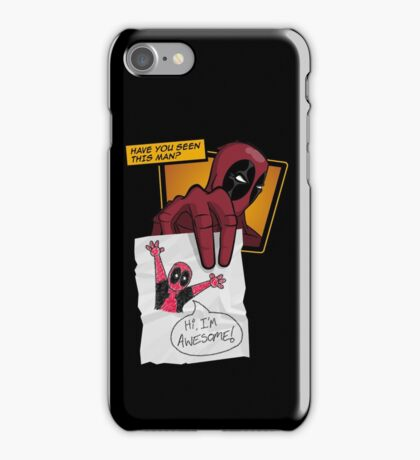 Dead Poll iPhone Case/Skin