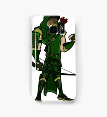 Cartoon Green Arrow Season 4 Samsung Galaxy Case/Skin