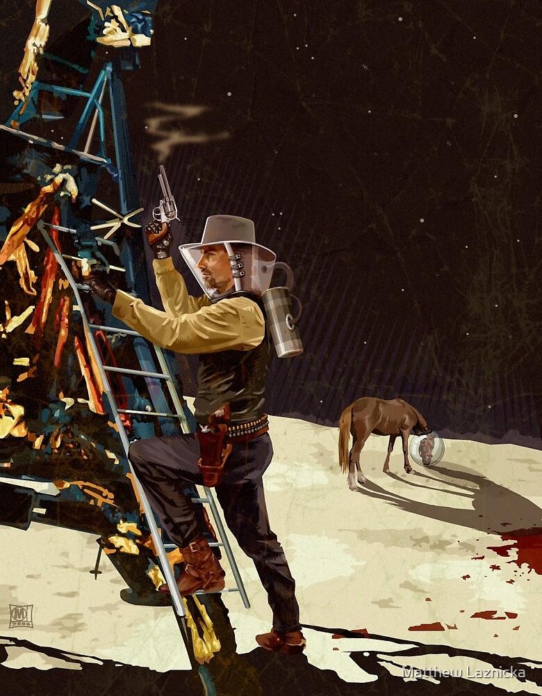 Cowboy Moon by Matthew Laznicka