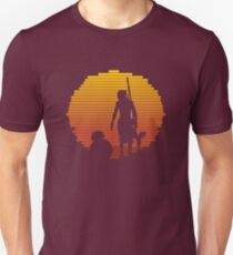 Star Wars - BB-8 & Rey : Jakku Sunset Unisex T-Shirt