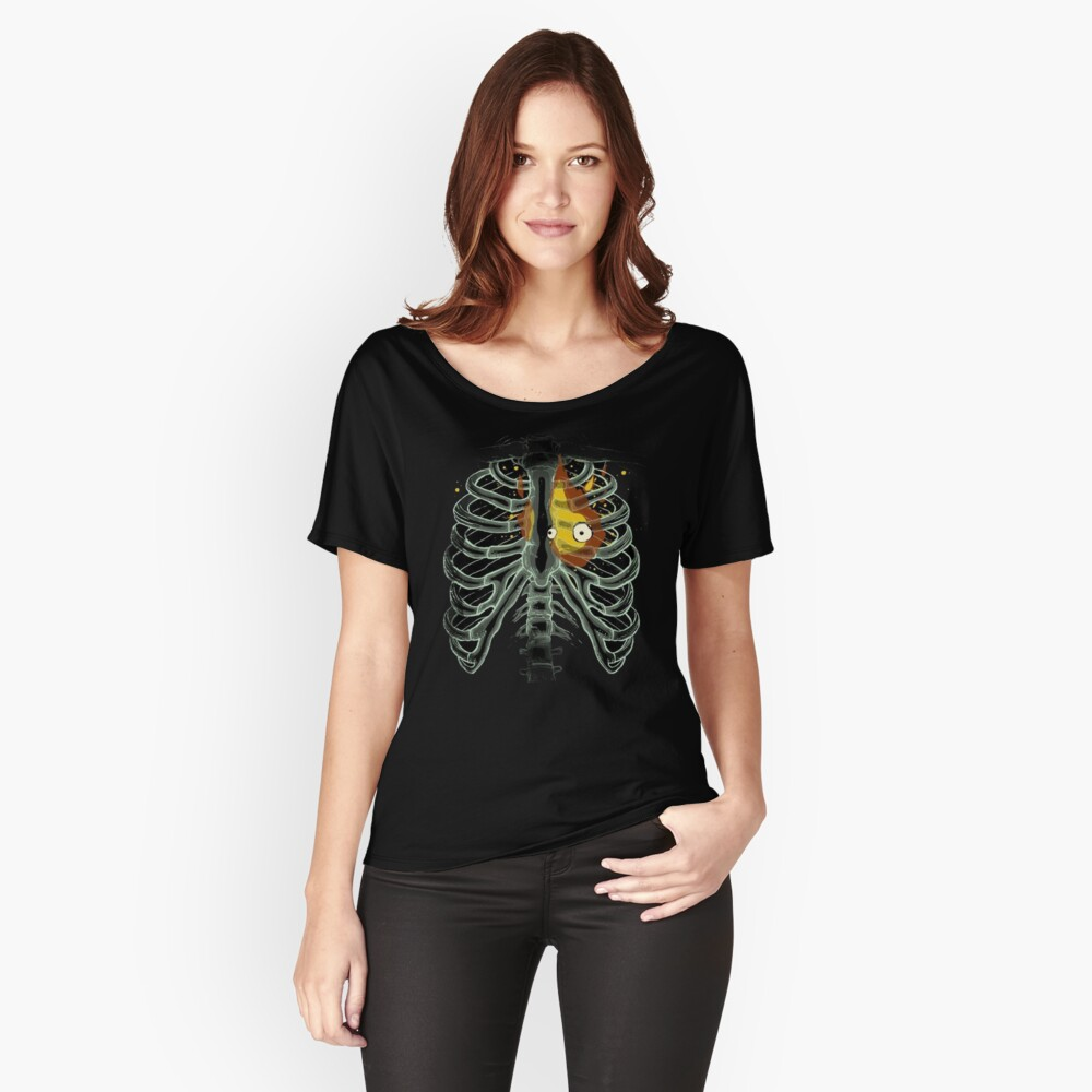 Calcifer - Howl's moving castle Women's Relaxed Fit T-Shirt Front