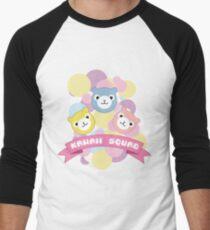 Kawaii Squad Alpaca Pastel Arpakasso Cute Pixel Men's Baseball ¾ T-Shirt
