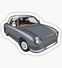 Nissan Figaro - Lapiz Grey Sticker