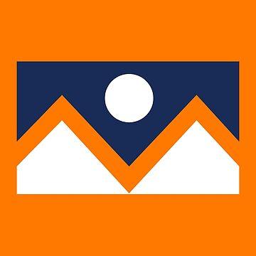 Denver Flag - alternate colors by justinwmiller