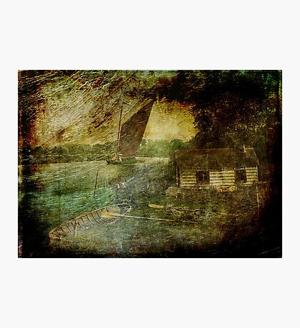 The Eel Fisher's Hut Photographic Print