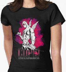 Cupid: love and superheroes Women's Fitted T-Shirt