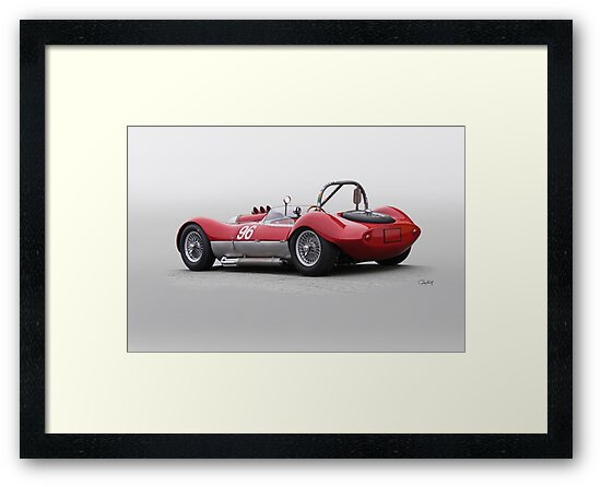 1960 Witton Special 96 Vintage Racecar by DaveKoontz