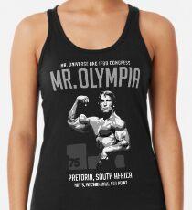 Arnold Schwarzenegger 1975 Herr Olympia Tanktop für Frauen
