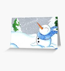 Blizzard Bliss Greeting Card