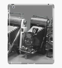 Vintage cameras photography design iPad Case/Skin