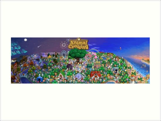 «Cartel de Animal Crossing» de viking011