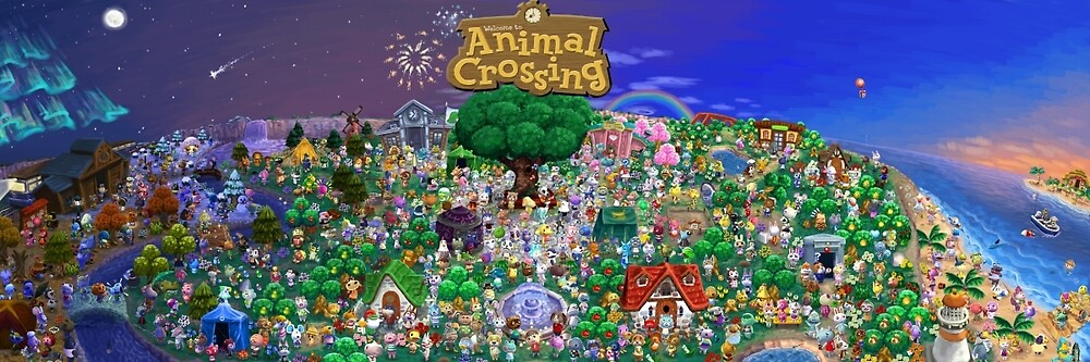 Animal Crossing Poster by viking011
