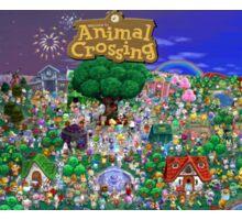 Animal Crossing Poster Sticker